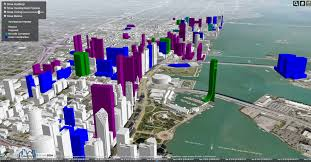 City Of Miami Zoning Map by Interactive 3d Map Shows Present And Future Miami Skyline