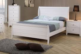 Youth Bed Frames White Finish Youth Bed Frame Caravana Furniture