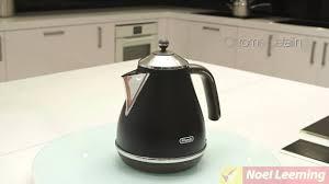 Delonghi Icona Toaster Green Delonghi Icona Vintage Kettle Black Demonstration Youtube