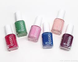 nail polish society essie spring 2017 collection