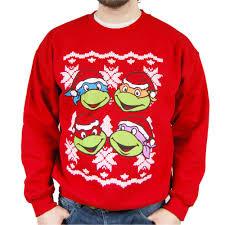 mutant turtles sweater