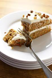 carrot cake with cream cheese frosting first time foods