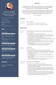 Personal Banker Sample Resume by Sample Resume Senior Personal Banker Leads None Ga