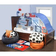 Privacy Pop Bed Tent Kids Scene Sports Play Bed Tent Walmart Com