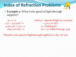 What Is The Speed Of Light Magnification Refraction And Snell U0027s Law Ppt Download