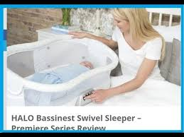 Halo Innovations Inc Halo Bassinest by Halo Bassinest Swivel Sleeper Review Crib Instructions U0026 Assemby