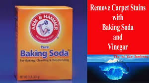 Baking Soda Upholstery Cleaner Carpet Stain Removal With Baking Soda And Vinegar Watch That