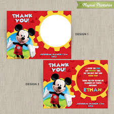 Mickey Mouse 1st Birthday Card Editable 1st Birthday Invitation Card Free Download Mickey Mouse