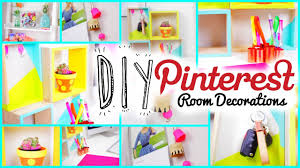 Room Decorations Pinterest by Diy Room Decorations Pinterest Inspired Youtube