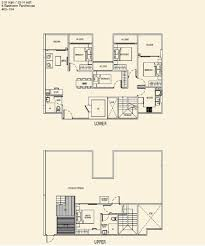 The Parc Condo Floor Plan by Floor Plan Parc Rosewood
