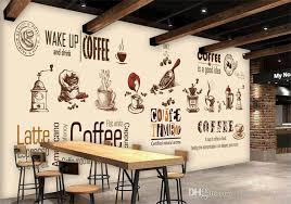 wallpaper coffee design custom stereo coffee wallpaper modern minimalist large mural