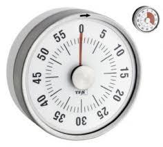 timer compte minutes avec aimant blanc tfa
