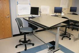 Height Adjustable Drafting Table Ki Drafting Table Adjustable Height Sit Stand Solutions
