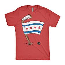 Flag Clothing Chicago Flag Hockey Chitown Clothing