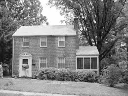 Brick Colonial House 1940 U0027s Brick Colonial Home Renovation In Northern Va U2013 Old