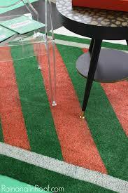 Outdoor Turf Rug Diy Painted Astroturf Rug For Summer Events Astro Turf Rug