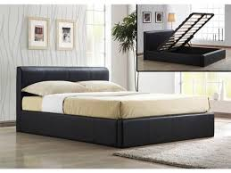 home design 85 wonderful black leather bed frames