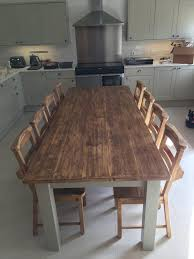 handcrafted rustic oak dining room furniture