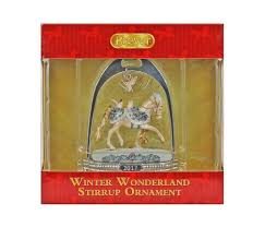 700318 breyer winter stirrup ornament 2017 ebay