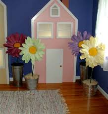 Daisy Room Decor Gerbera Daisy Buckets Oversized Flower Party Decorations Stage