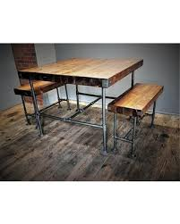 counter height dining table with bench memorial day sales on counter height dining set thick wood