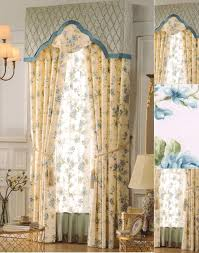 Floral Jacquard Curtains Yellow Floral Curtains Scalisi Architects