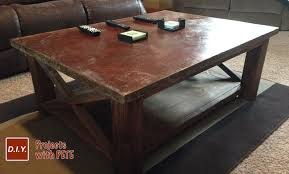 Best Wood For Making A Coffee Table by Concrete Table Archives Diy Projects With Pete