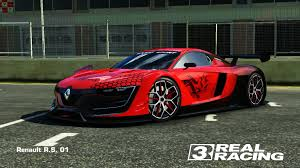 renault rs 01 real racing 3 renault r s 01 customization and tuning youtube