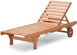 amazon com strathwood basics hardwood chaise lounge patio lawn