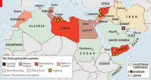 arab countries map 40 maps that explain the middle east