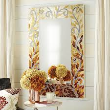 Pier 1 Imports Mirrored Chest by Mosaic Leaves Mirror Pier 1 Imports Happy House Pinterest