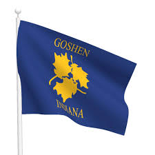 Michigan Flags City Of Goshen Flag Flags International