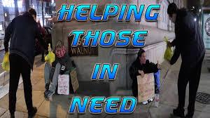 feeding the homeless on thanksgiving