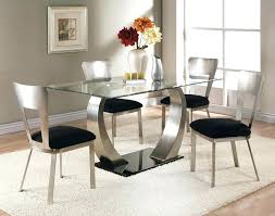 cheap glass dining room sets glass dining room sets for sale rectangular glass dining table w u