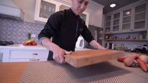 soulfino professional butcher block best large bamboo cutting