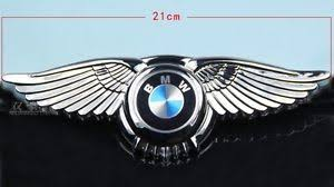 bmw car logo bmw badge wings car logo 3m front bonnet emblem 8 5 2 7