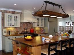 Traditional Kitchen Island Lighting Contemporary Traditional Kitchen Design Black Wood Island