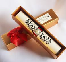 wedding scroll invitations wedding invitations box fresh hi2052 royal golden scroll wedding