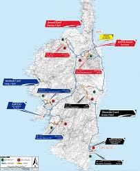 Corsica Map Tour De Corse 2017 Edition U0027s Itinerary And Maps