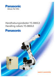 handling robots ys080g3 panasonic robot u0026 welding pdf