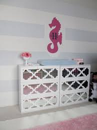 baby nursery baby nursery hacks for simple bedroom ikea nursery full size of hacker changing table pink seahorses wall decal white solid wood changing dresser pink