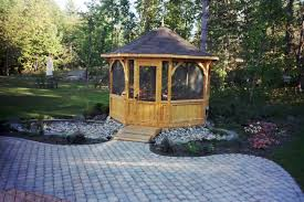 Patio Gazebos by Deck Vs Patio Deck Design And Ideas