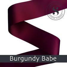 burgundy ribbon burgundy ribbon ebay