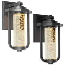 Traditional Lighting Fixtures Artcraft Ac9012 Traditional 8 Wide Led Exterior Wall