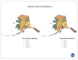 Alaska Map Cities by National Climate Report February 2015 Alaska Climate Divisions