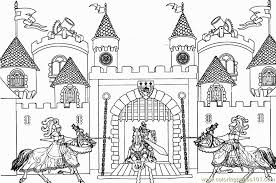 coloring pages king arthur castle architecture sightseeing 683255