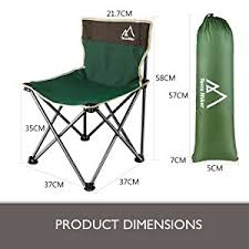 Small Fold Up Camping Chairs Amazon Com Terra Hiker Portable Chair Camping Chair Beach