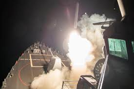 Likely Syrian Missile Targets In Google by Us Launches Cruise Missile Strike On Syria Military Com