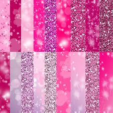 Cute Pink Pictures by Pink Glitter Paper Digital Paper In Cute Pink Colors Sparkle