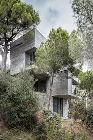 steep slope house plans steep slope house design goes vertical just like trees